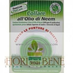 Collare con olio di neem