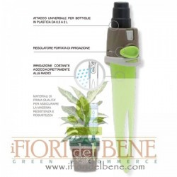 Irrigatore per bottiglie in plastica