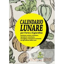 Il calendario lunare per l'orto e il giardino. Con gadget