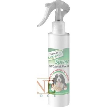 Spray all'olio di neem Frontline cani e gatti 200 ml