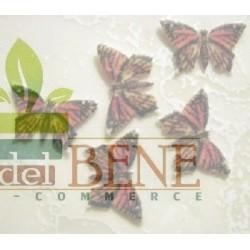 Farfalla 1.5 cm in cartoncino piantabile