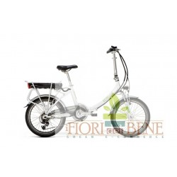 Bicicletta elettrica pedalata assistitta Eco Bend World dimension