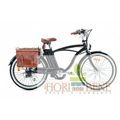 Bicicletta elettrica pedalata assistita Cruise Retro World dimension
