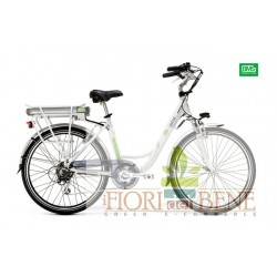 Bicicletta elettrica pedalata assistita Crystal World dimension