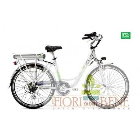 Bicicletta elettrica pedalata assistita Crystal World dimension