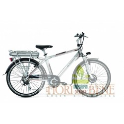 Bicicletta elettrica pedalata assistita E-Biker 28 World dimension
