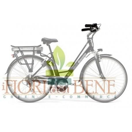 Bicicletta elettrica pedalata assistitta Green Fire World dimension