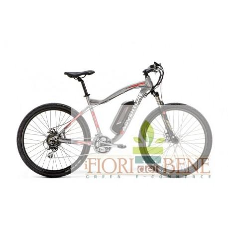 Bicicletta elettrica pedalata assistita E-Adventure con motore centrale World dimension