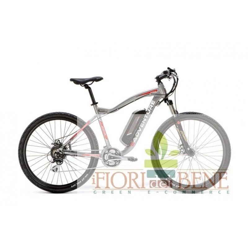Bicicletta Elettrica Pedalata Assistita E Adventure Con Motore Centrale World Dimension