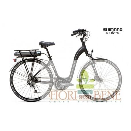 Bicicletta elettrica pedalata assistita E-Phantom Lady World dimension
