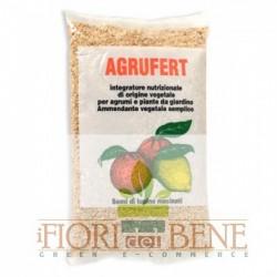 Semi di lupino macinati Agrufert concime biologico specifico per la concimazione di agrumi e piante da giardino 1 Kg