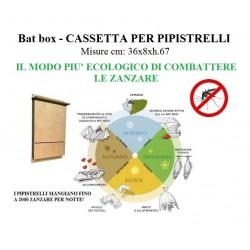 Bat Box - casetta per il ricovero estivo dei pipistrelli, unico rimedio naturale contro le zanzare