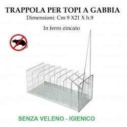 Trappola per topi a gabbia - cattura topi senza veleno